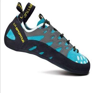 La Sportiva rock climbing shoes